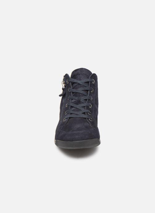 Baskets Ara Rom High Soft 44407 Bleu vue portées chaussures