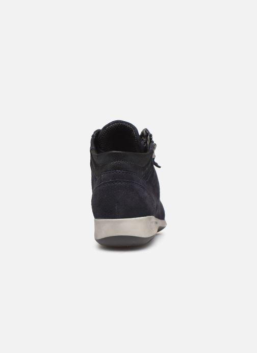 Sneakers Ara Rom High Soft 44407 Blauw rechts