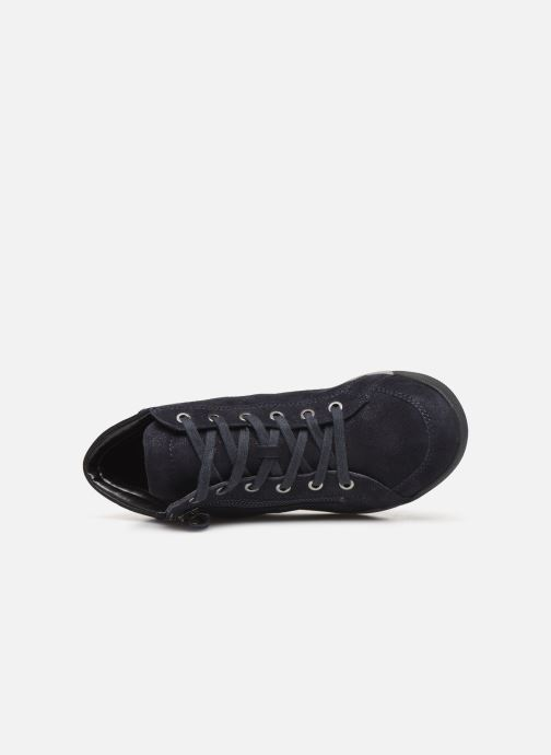 Sneakers Ara Rom High Soft 44407 Blauw links