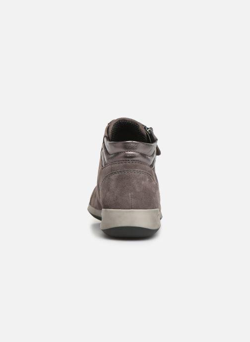 Sneaker Ara Rom High Soft 44407 grau ansicht von rechts
