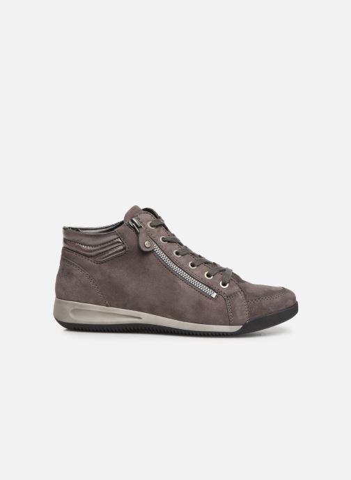 Sneaker Ara Rom High Soft 44407 grau ansicht von hinten
