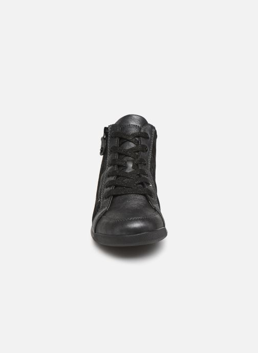 Baskets Ara Rom High Soft 44407 Gris vue portées chaussures