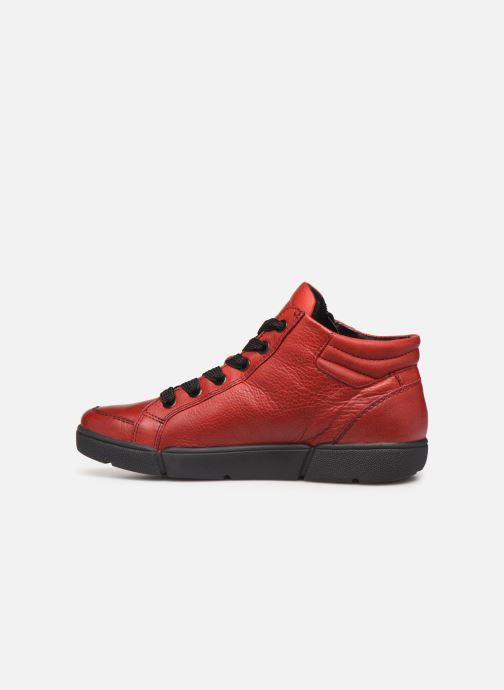 Sneaker Ara Rom High Soft 14435 rot ansicht von vorne
