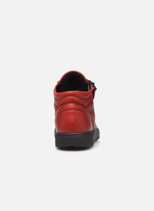 Sneaker Ara Rom High Soft 14435 rot ansicht von rechts