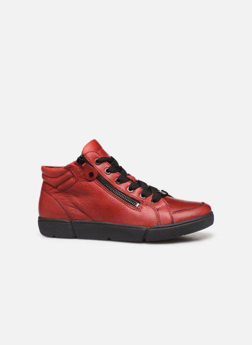 Baskets Ara Rom High Soft 14435 Rouge vue derrière