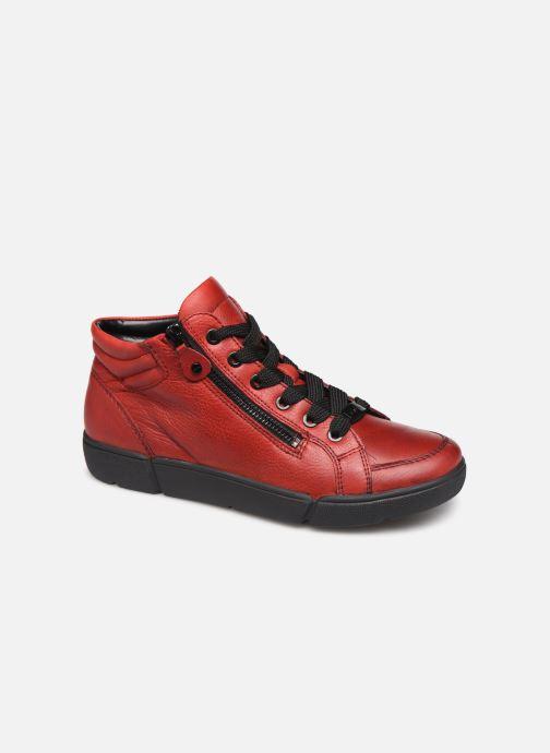 Baskets Ara Rom High Soft 14435 Rouge vue détail/paire