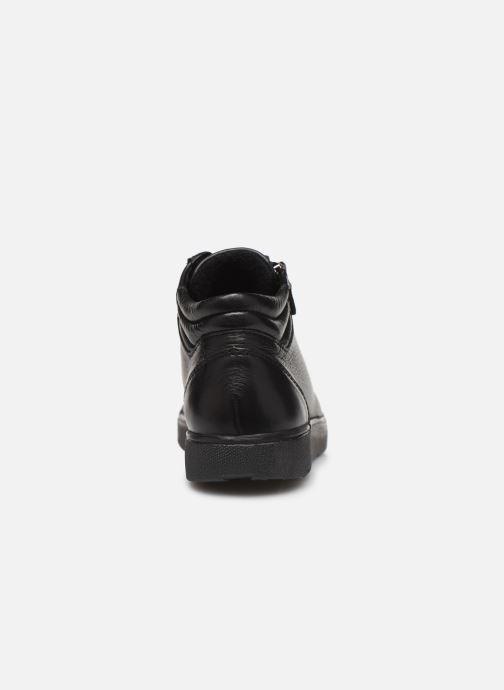 Baskets Ara Rom High Soft 14435 Noir vue droite