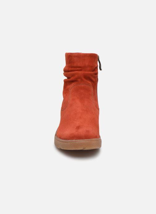 Bottines et boots Ara Rom High Soft 14437 Rouge vue portées chaussures