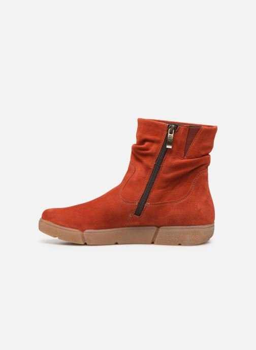 Bottines et boots Ara Rom High Soft 14437 Rouge vue face