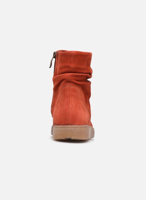 Bottines et boots Ara Rom High Soft 14437 Rouge vue droite