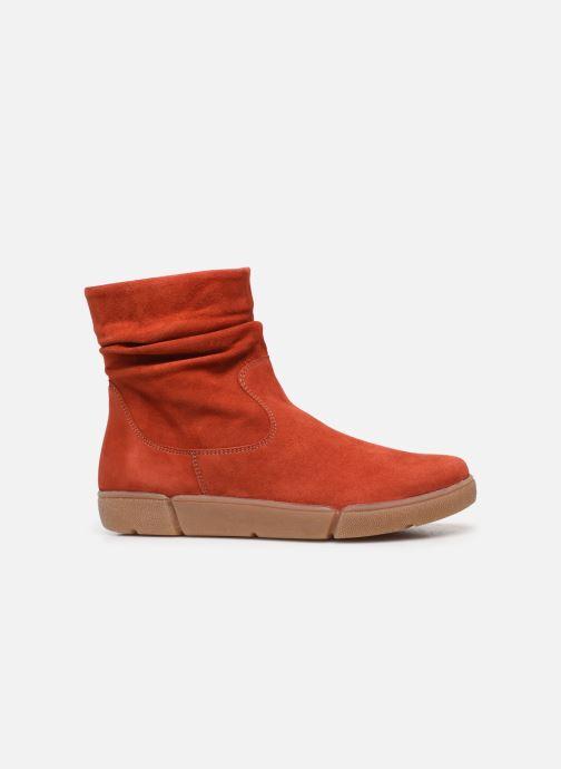 Bottines et boots Ara Rom High Soft 14437 Rouge vue derrière