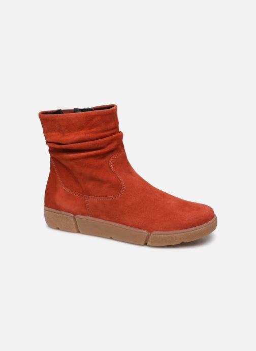 Bottines et boots Ara Rom High Soft 14437 Rouge vue détail/paire
