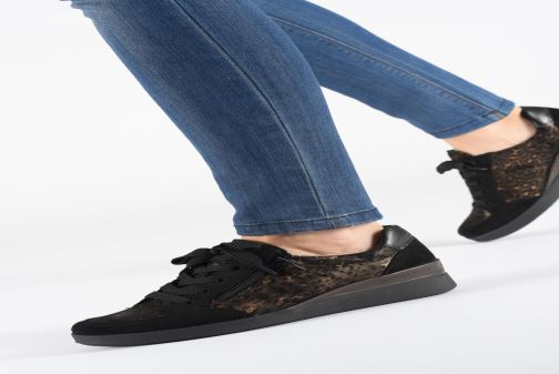 Sneaker Ara Lazio Highsoft 43311 schwarz ansicht von unten / tasche getragen