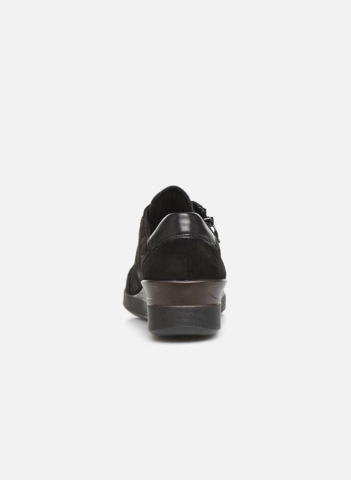 Sneaker Ara Lazio Highsoft 43311 schwarz ansicht von rechts