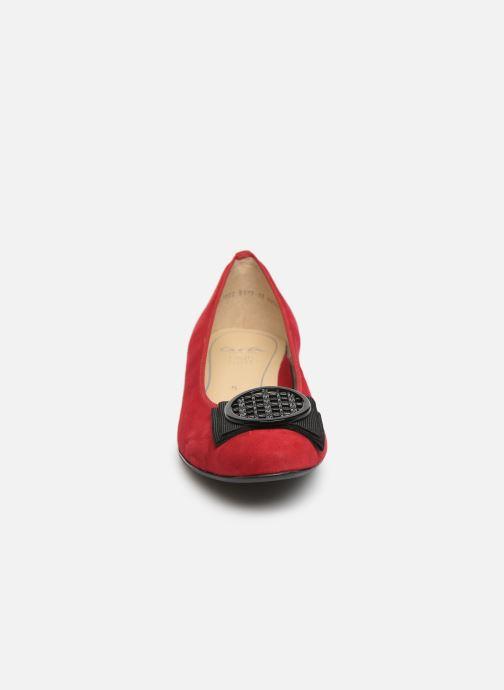 Ballerinas Ara Bari 43720 rot schuhe getragen
