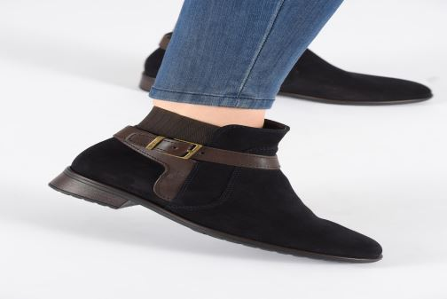 Ankle boots Ara Liverpool 49524 Blue view from underneath / model view