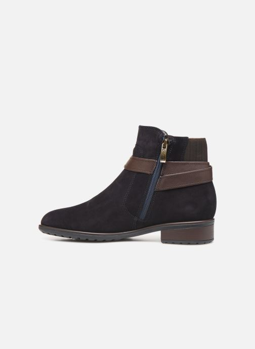 Ankle boots Ara Liverpool 49524 Blue front view