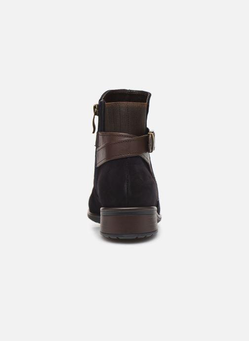 Bottines et boots Ara Liverpool 49524 Bleu vue droite