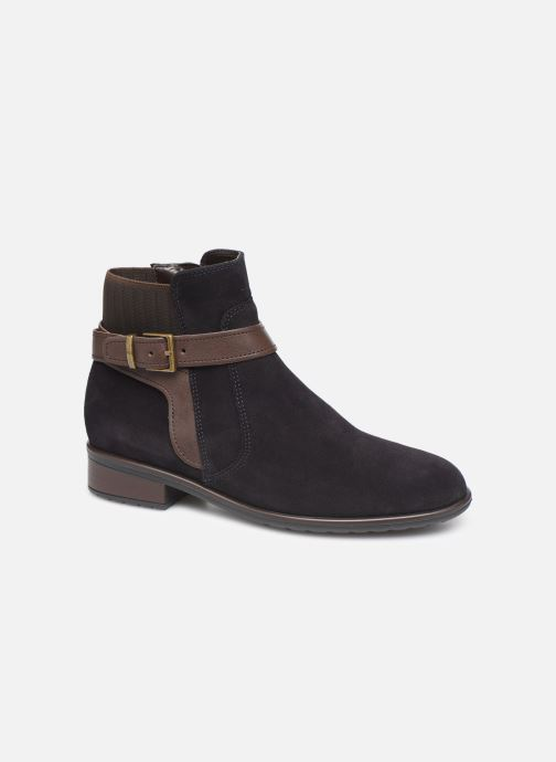 Ankle boots Ara Liverpool 49524 Blue detailed view/ Pair view