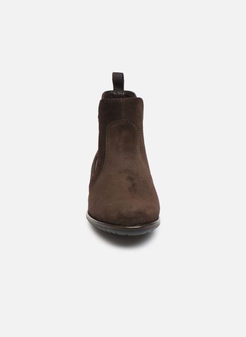 Boots Ara Liverpool 49520 Brun bild av skorna på