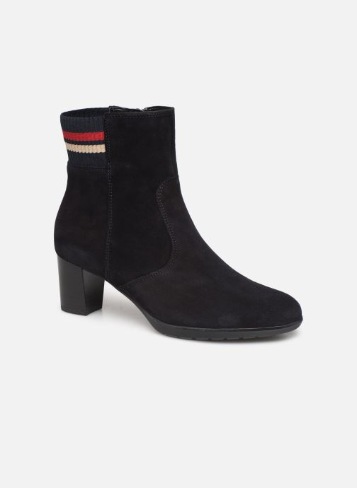 Ankle boots Ara Orly 13407 Blue detailed view/ Pair view