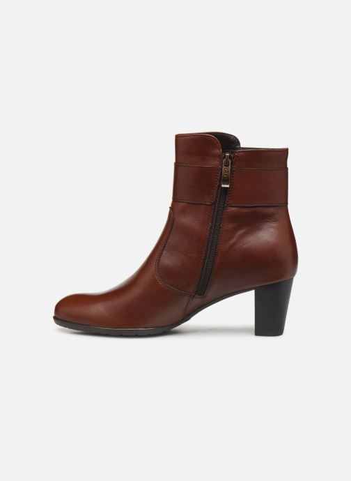 Bottines et boots Ara Toulouse  43411 Marron vue face