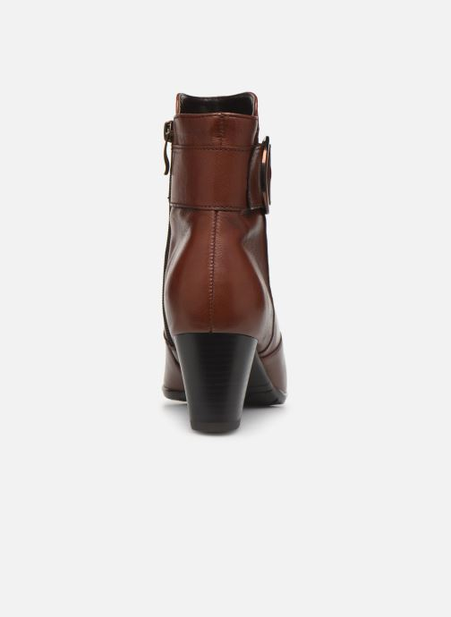 Boots en enkellaarsjes Ara Toulouse  43411 Bruin rechts