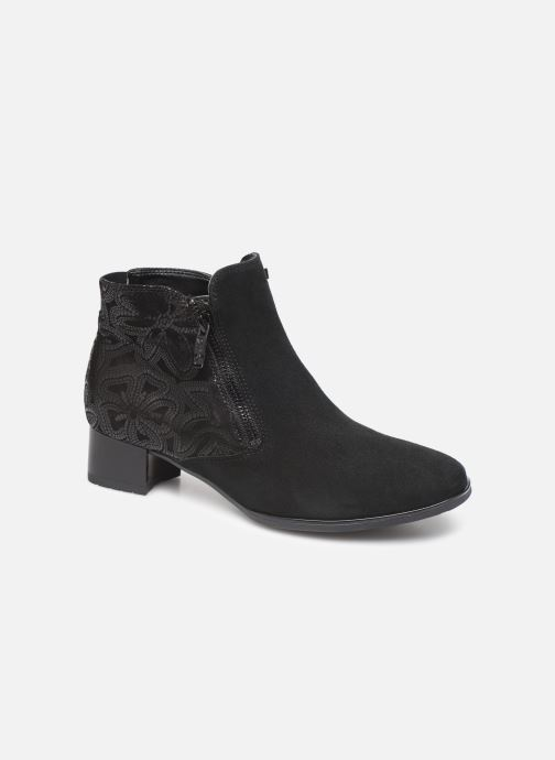 Ankle boots Ara Graz 11837 Black detailed view/ Pair view