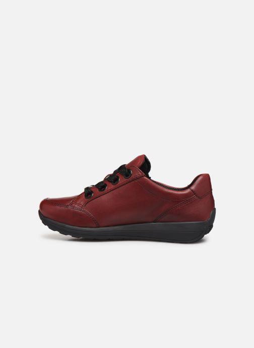 Sneakers Ara Osaka 34587 Vinröd bild från framsidan
