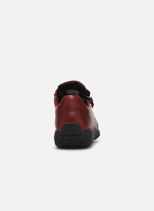 Sneakers Ara Osaka 34587 Vinröd Bild från höger sidan