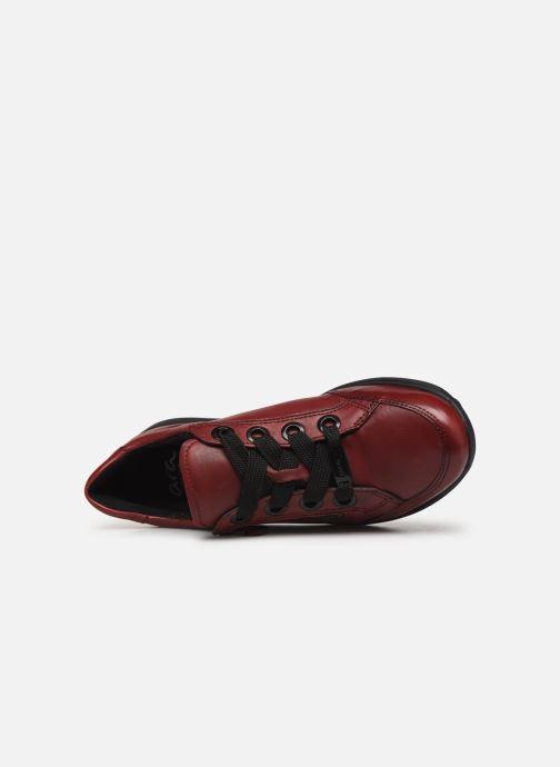 Sneakers Ara Osaka 34587 Vinröd bild från vänster sidan