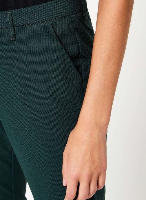 Vêtements Kanopé PANTALON DIANE PIED DE POULE Vert vue face