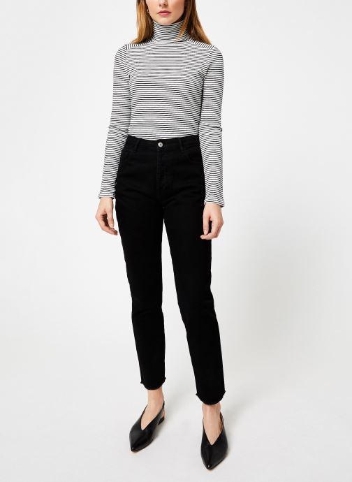 Vêtements Kanopé PULL ALIETTE Blanc vue bas / vue portée sac