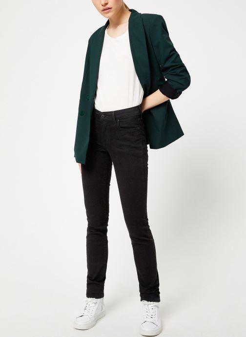 Vêtements Kanopé VESTE VALENTINE PIED DE POULE Vert vue bas / vue portée sac