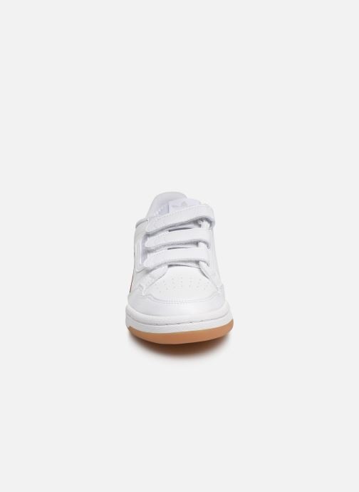 Baskets adidas originals Continental 80 Cf J Blanc vue portées chaussures