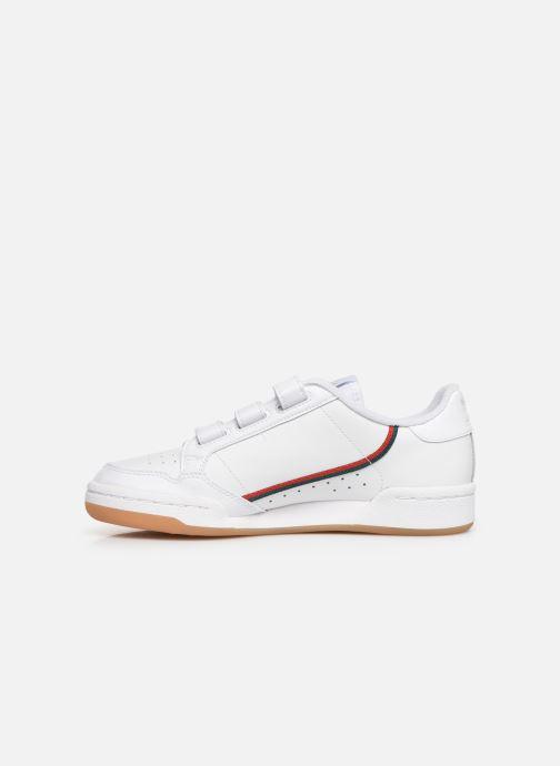 Baskets adidas originals Continental 80 Cf J Blanc vue face