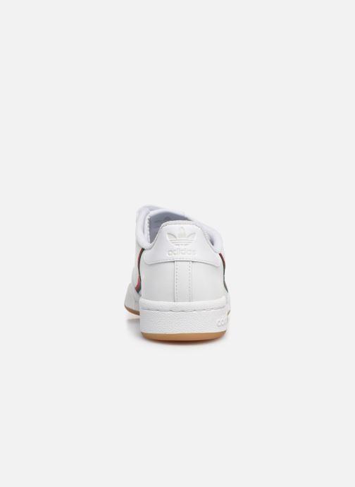 Baskets adidas originals Continental 80 Cf J Blanc vue droite