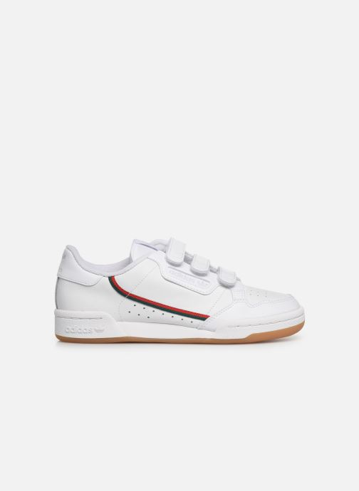 Sneakers adidas originals Continental 80 Cf J Wit achterkant