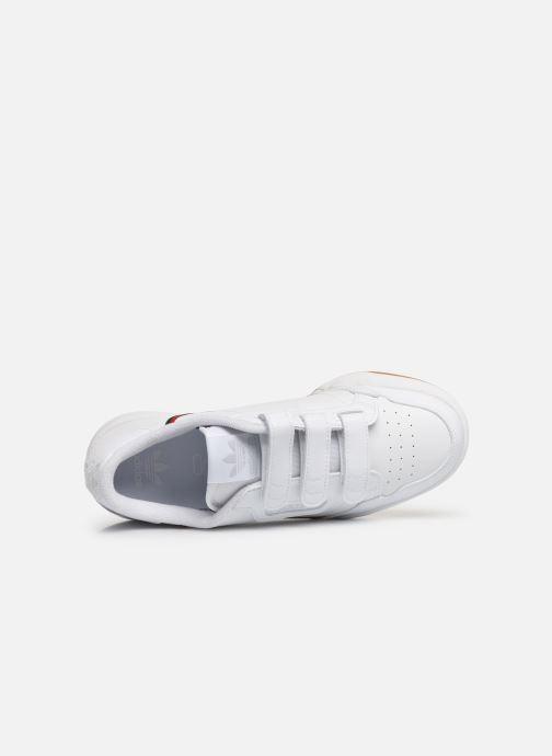 Baskets adidas originals Continental 80 Cf J Blanc vue gauche