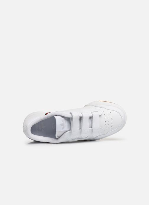 Sneakers adidas originals Continental 80 Cf J Wit links