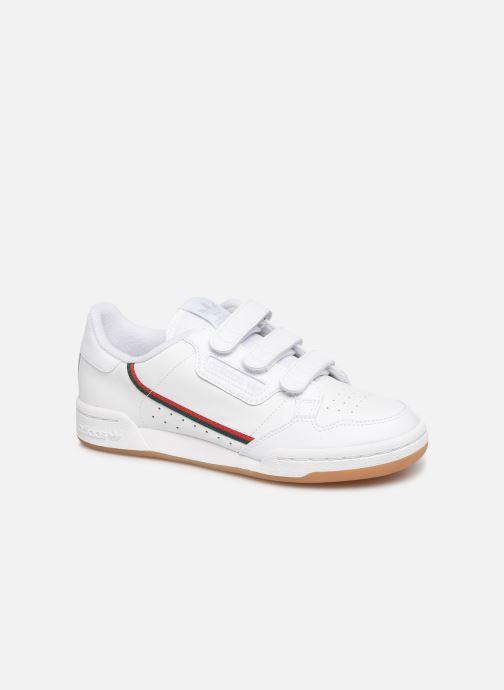 Baskets adidas originals Continental 80 Cf J Blanc vue détail/paire