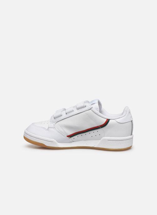 Sneakers adidas originals Continental 80 Cf C Wit voorkant