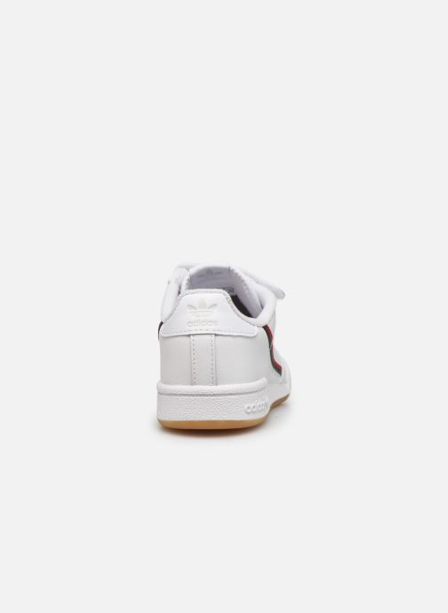 Sneakers adidas originals Continental 80 Cf C Wit rechts
