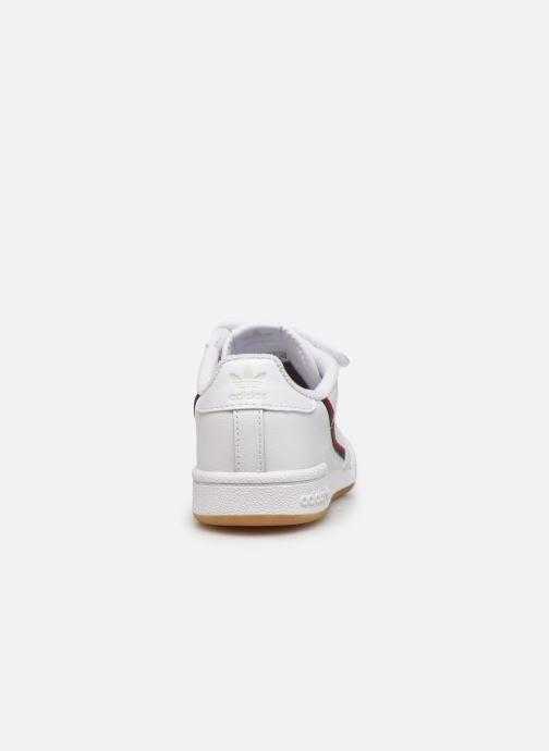 Sneakers adidas originals Continental 80 Cf C Hvid Se fra højre