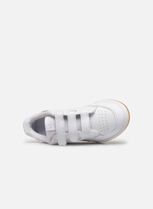 Sneakers adidas originals Continental 80 Cf C Wit links