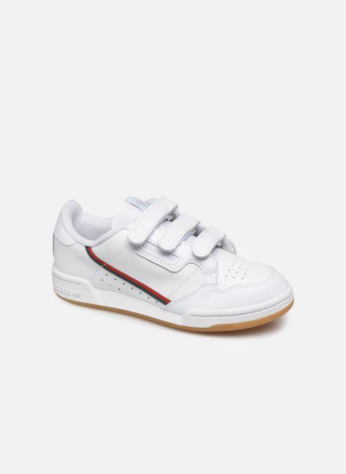 Sneakers adidas originals Continental 80 Cf C Hvid detaljeret billede af skoene