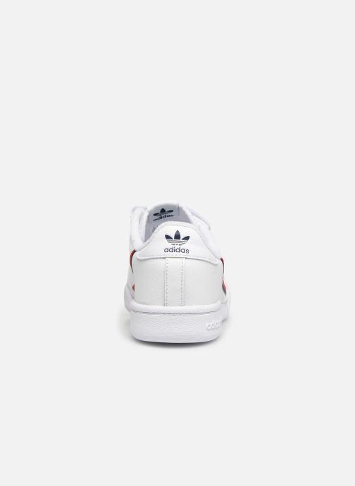 Sneaker adidas originals Continental 80 Cf C weiß ansicht von rechts