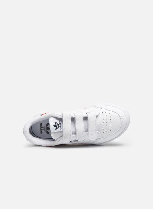 Sneaker adidas originals Continental 80 Cf C weiß ansicht von links