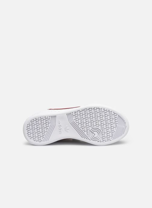 Sneaker adidas originals Continental 80 Cf C weiß ansicht von oben