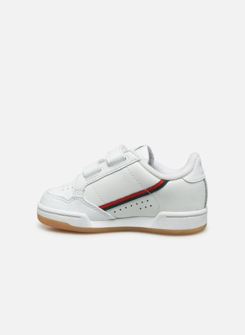 Sneakers adidas originals Continental 80 Cf I Bianco immagine frontale